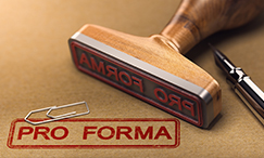 Pro Forma Financial Analysis